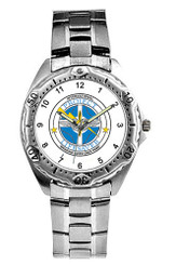 Stainless Steel Watch - Silver - WPS 3