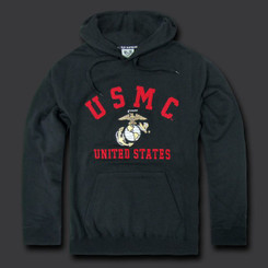 USMC Fleece Pullover Hoodies 2