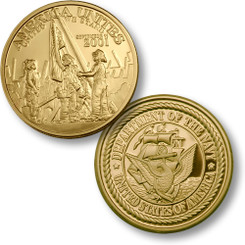 America Unites Navy MerlinGold® Coin