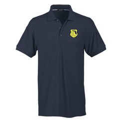 Men's No-Curl Pique Short Sleeve Polo 1