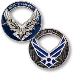 Air Force Cross Into The Blue Coin