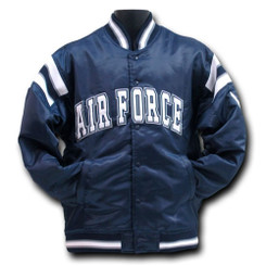Satin Air Force Coach's Jacket