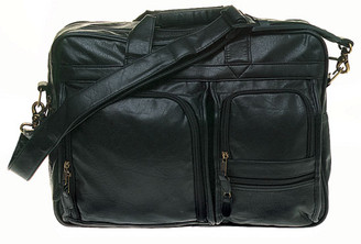 Multi-Pocket Attache - Simulated Leather 1