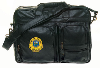 Multi-Pocket Attache - Simulated Leather 13