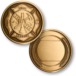 Fire & Rescue / Engravable Coin