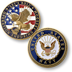 Operation Enduring Freedom Navy Coin