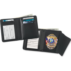Deluxe Hidden Badge Single ID Wallet