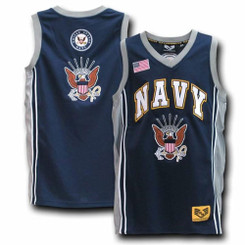 Navy Basketball Jersey