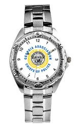 Stainless Steel Watch - Silver - WPS 9