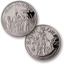 America Unites Nickel Coin