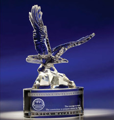 Soaring Eagle Optic Crystal Award 5