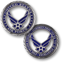 Core Values - U.S. Air Force Coin
