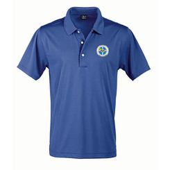 Men's Solid Jersey Short Sleeve Polo