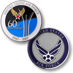 Air Force 60th Anniversary Coin