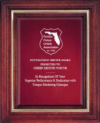 Cherry Award Plaque (Large) 9