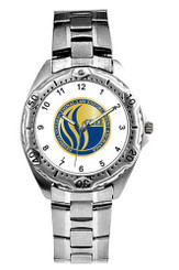 Stainless Steel Watch - Silver - WPS 8