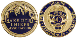 Major Cities Chiefs Commemorative Coin