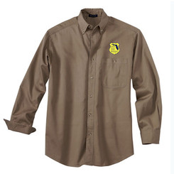 Men's Denim & Twill Long Sleeve Shirt