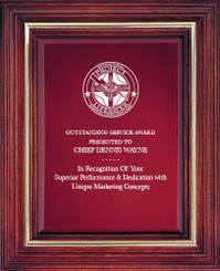 Cherry Award Plaque (Small) 1