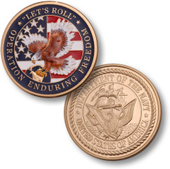 Enduring Freedom - Navy MerlinGold® Coin