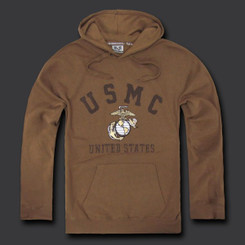 USMC Fleece Pullover Hoodies