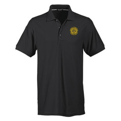 Men's No-Curl Pique Short Sleeve Polo - GACP