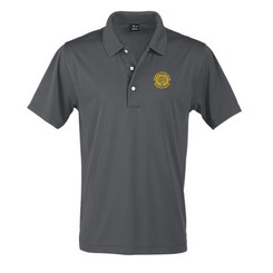 Men's Solid Jersey Short Sleeve Polo - GACP
