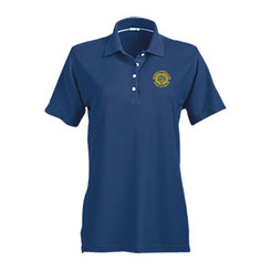 Ladies' No-Curl Pique Short Sleeve Polo - GACP