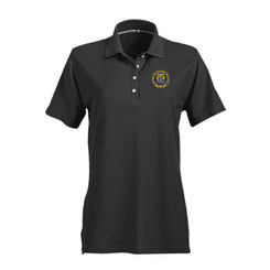 LADIES' NO-CURL PIQUE SHORT SLEEVE POLO - NJCP