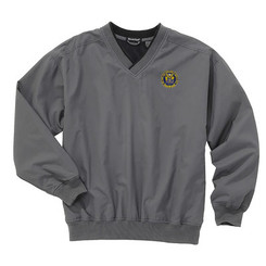 Men's Lined Microfiber Pullover Windshirt - NJCP