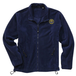 Men's Full-Zip Microfleece Jacket - NJCP