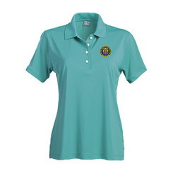 Ladies' Solid Jersey Short Sleeve Polo - NJCP