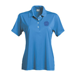 Ladies' Solid Jersey Short Sleeve Polo - GACP