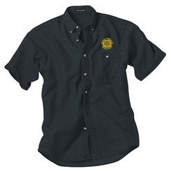 Men's Denim & Twill Short Sleeve Shirt - GACP