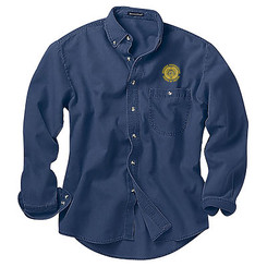 Men's Denim & Twill Long Sleeve Shirt - GACP