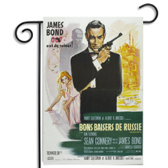 James Bond 007 est de retour Garden Flag