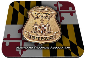 Maryland Troopers Association Mouse Pad