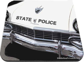 State Police Ford Fairlane Mouse Pad