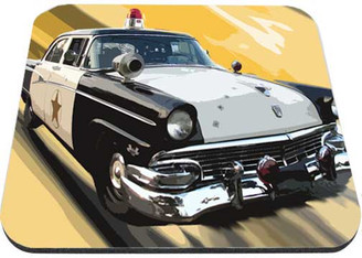 Sheriff Patrol Car  Ford Fairlane Mouse Pad