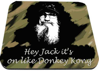 Uncle Si Hey Jack It's On Like Donkey Kong Mouse Pad