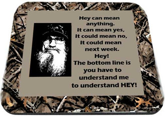 Uncle Si Hey Could Mean Anything Camo Mouse Pad Mouse Pad