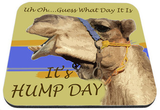 Guess What Day It Is It's Hump Day Mouse Pad
