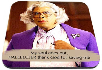Madea My Soul Cries Out hallelujer Mouse Pad