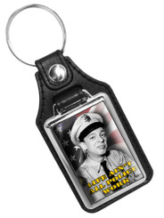 Barney Fife Life Ain't all Police Work Faux Leather Mayberry Key Ring