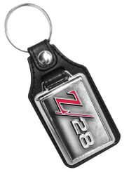 Z28 Emblem  Faux Leather Key Ring