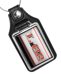L82 Chevrolet Corvette Emblem Faux Leather Key Ring