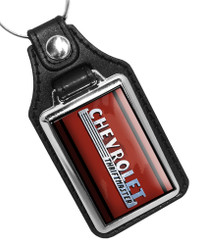 Chevrolet Thriftmaster Emblem Faux Lether Key Ring