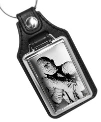 Tom Tyler As the Mummy Monster Design Faux Leather Key Ring