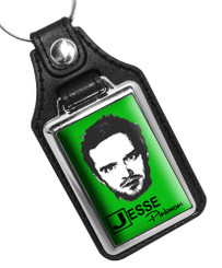 Jessie Pinkman Breaking Bad Faux Leather Key Ring