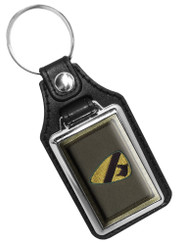 1st Cavalry Emblem Faux Leather Key Ring